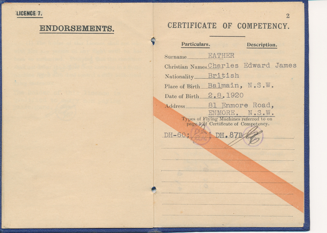 Commonwealth of australia private pilots certificate and licence commonwealth of australia private pilots certificate and licence no4016 4 september 1941 xflitez Gallery